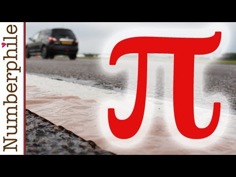 OF - A million digits of Pi on one piece of paper (1.05 miles). More about how and why: http://youtu.be/99Welatppzk More Pi videos from Numberphile: http://bit.ly/PiPlaylist Film by Brady Haran...