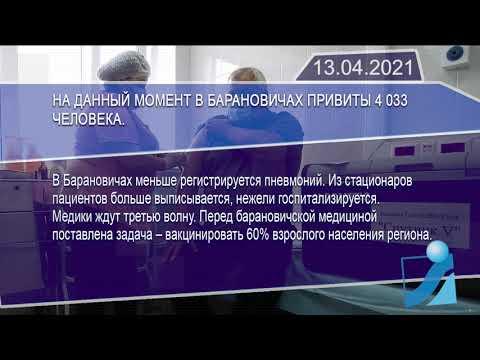 Новостная лента Телеканала Интекс 13.04.21.