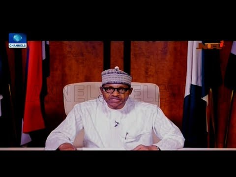 Buhari Promises Nigerians Free, Fair Elections In National Broadcast (Full Speech)