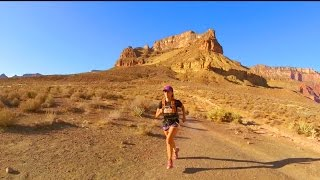 South Kaibab to Phantom Ranch to Bright Angel  Trail Running GoPro, Evo GP-Pro Gimbal Trail running the grand canyon in ...