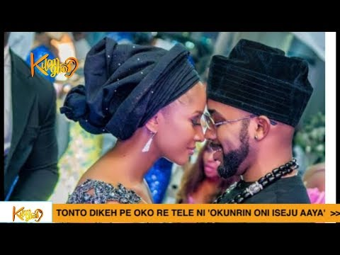 Banky W And Adesua Etomi Celebrate 1st Wedding Anniversary {Nigerian Entertainment}