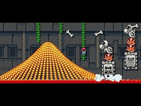 Super Mario Maker Crazy Levels! (видео)