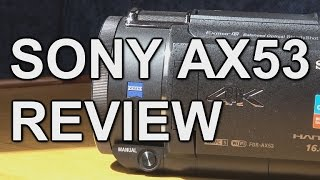 "In this video I review Sony's AX53 4K camcorder which has succeeded the AX33. The video includes sample shots, demos of the stabilisation modes including the new ""Intelligent Active"" mode, low light performance compared to the AX33 is examined and an overall conclusion is summed up from the various features and aspects of the camcorder.If you would like to buy either the AX53 or AX33, please consider using these links so that I get a small commission to help keep the videos coming. ThanksAX53: http://amzn.to/29jHifmAX33: http://amzn.to/29jHjQsSpare Sony NP-FV70 battery: http://amzn.to/29jHlIfCheaper Duracell battery: http://amzn.to/29jJ4goPublished by www.tubeshooter.co.ukwww.twitter.com/tubeshootermagwww.facebook.com/tubeshootermag"