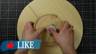 How to make a Motorized Lazy Susan / Turntable for Photo Studio