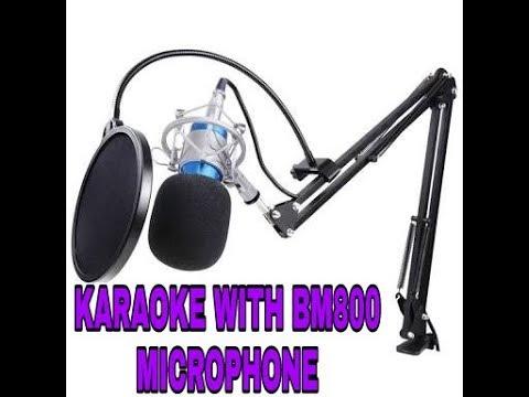 Download Video Karaoke with mic BM 800 !! Biarkan aku menangis - tommy j pissa
