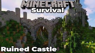 Let's Build a RUINED CASTLE #2 Ruined Bridge : Minecraft 1.14 Survival Let's Play