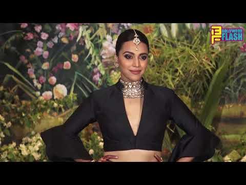 Video Swara Bhaskar Hot Outfit At Sonam Kapoor Reception Night Party download in MP3, 3GP, MP4, WEBM, AVI, FLV January 2017