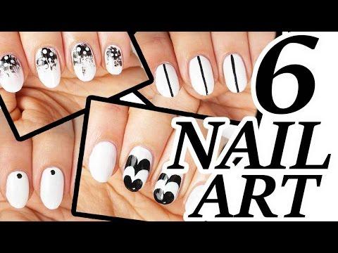 6 nail art facili da realizzare!