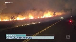 Centro-Oeste Paulista registra incêndios nesta terça-feira