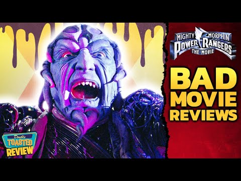 MIGHTY MORPHIN POWER RANGERS BAD MOVIE REVIEW | Double Toasted