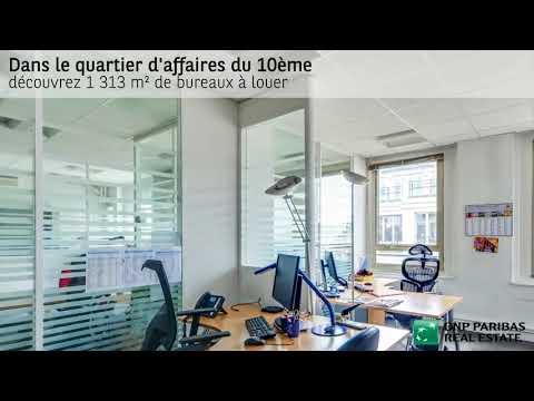 Bureaux à louer – Rue d'Hauteville - Paris 10ème arrondissement