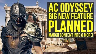 Assassin's Creed Odyssey DLC - March Content Info, Big Feature, No Legacy Content (AC Odyssey DLC)