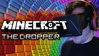 Minecraft: The Dropper - PLAYED WITH OCULUS RIFT! Part 1 - FREE FALLING