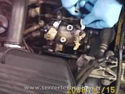 comment reparer pompe injection opel astra