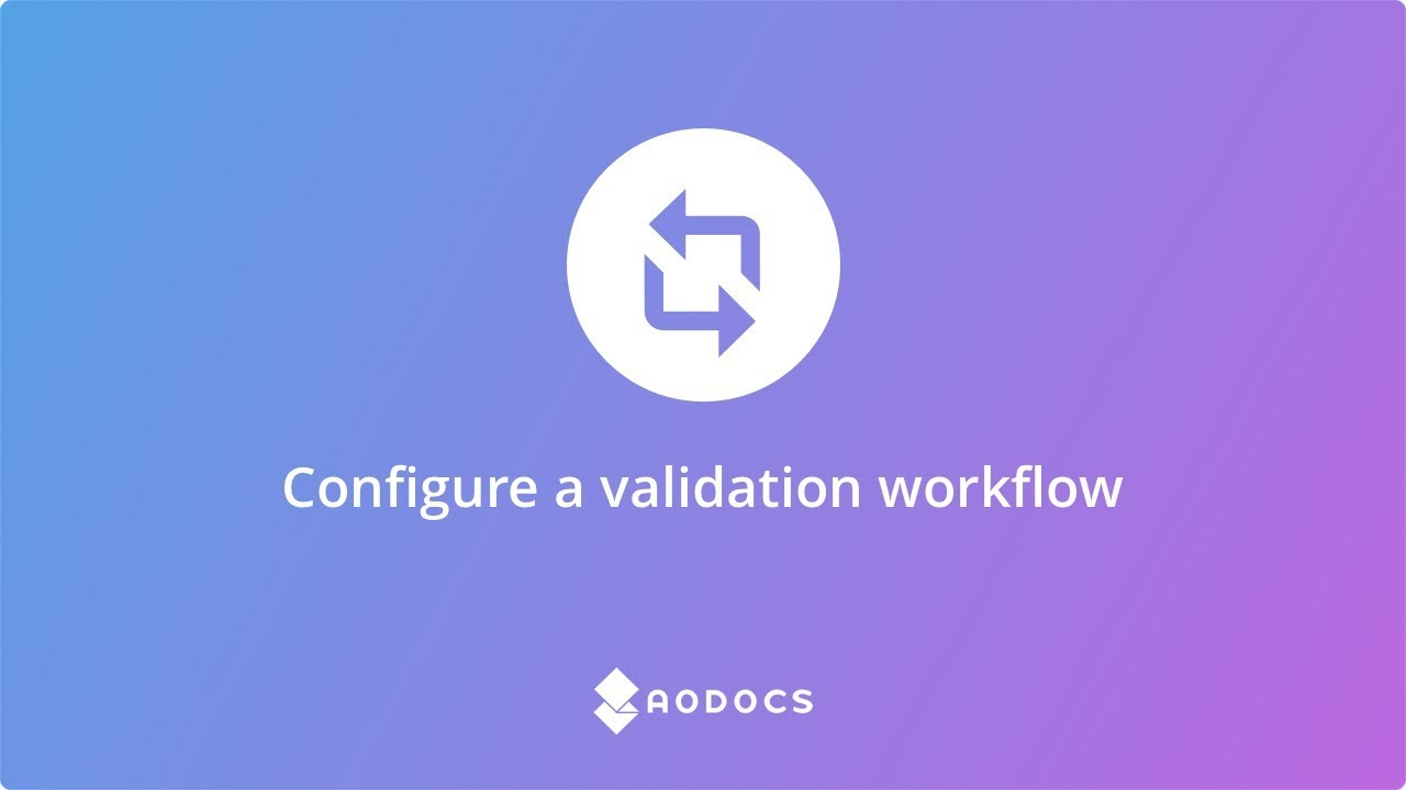 Configure a validation workflow's thumbnails