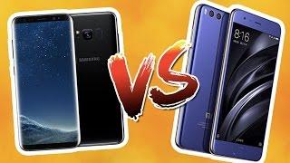 Xiaomi Mi6 vs Galaxy S8+ karşılaştırma - Canavarlar karşı karşıya!