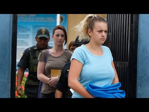 British and Irish drug mules leave Peruvian jail to hear sentences