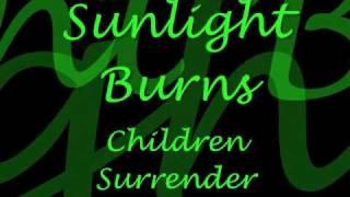 Black Veil Brides - Children Surrender (Lyrics On Screen)