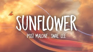 Video Post Malone, Swae Lee - Sunflower (Lyrics) MP3, 3GP, MP4, WEBM, AVI, FLV Maret 2019