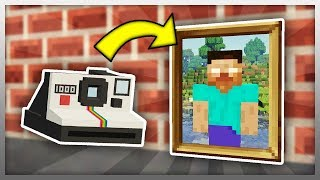•️ Working CAMERA in Minecraft!