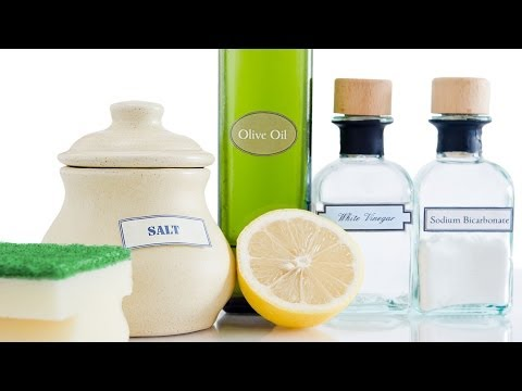 How to Make Green Cleaning Supplies | Green Living