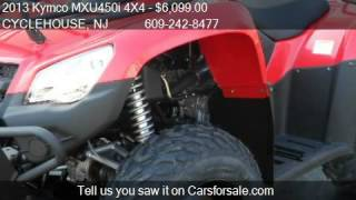 9. 2013 Kymco MXU450i 4X4  - for sale in Forked River , NJ 0873