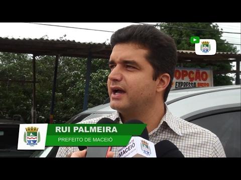 Prefeito Rui vistoria obras de duplicação na região da BR-316