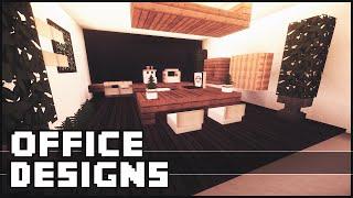 Minecraft - Office Designs&Ideas