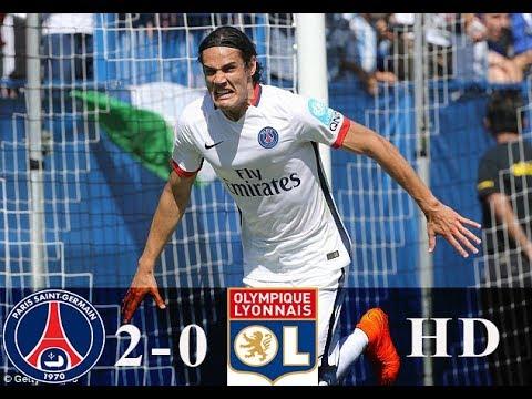 PSG vs Lyon 2 0 – All Goals & Highlights   HD