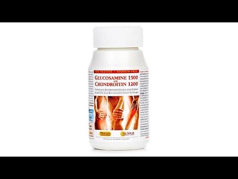 Glucosamine with Chondroitin  60 Capsules