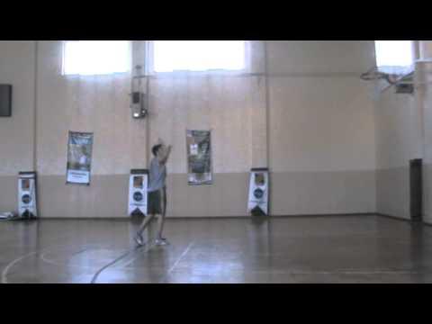 Berat bacak arası stop jump shot 2