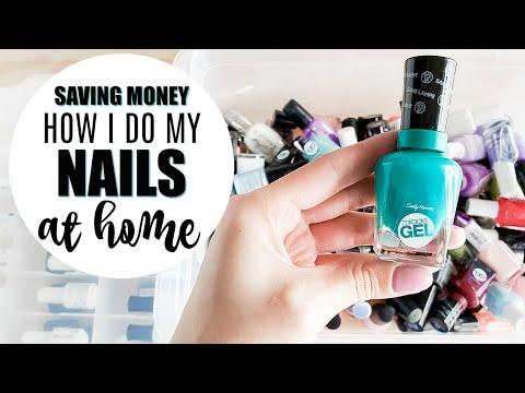 Nail salon - Saving Money: What I Use to Do My Nails at Home