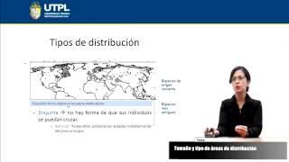 UTPL TAMAÑO Y TIPO DE ÁREAS DE DISTRIBUCIÓN [(GESTIÓN AMBIENTAL)(ECOSISTEMAS DEL ECUADOR)]