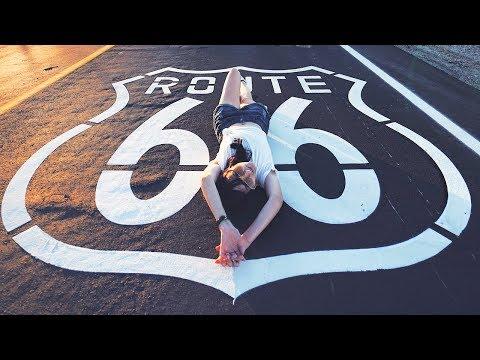 ROTA 66 - REALIZANDO UM SONHO DE INFÂNCIA  ROUTE 66 - CALIFORNIA  DANI NOCE VIAJA