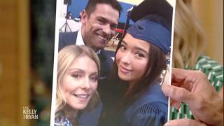 Kelly's Daughter Lola Graduates from High School
