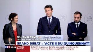 Zap zap - [Zap Actu] Réactions suite à l'intervention d'Emmanuel Macron (17/01/19)