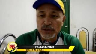 Novo treinador do Sousa diz que chega para tornar o Dinossauro Campeão