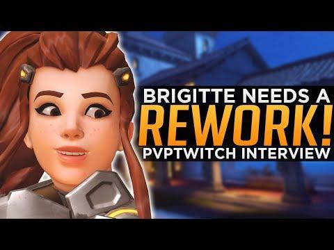 Overwatch: Brigitte NEEDS a Rework! - Top 500 PVPTwitch Interview