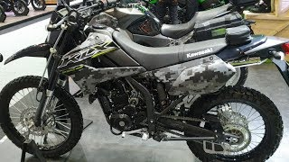 2. 2019 Kawasaki KLX250 - Matrix Camo Gray