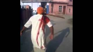 Karnal India  city pictures gallery : Attempt To Murder At Karnal Village In India