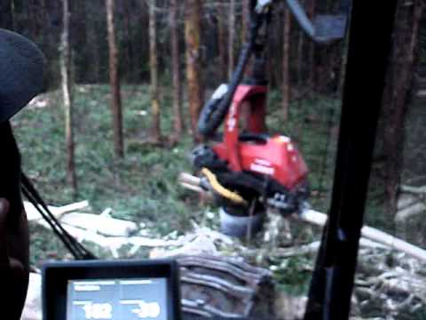 Komatsu Forest 03 -  Cabeçote 370E