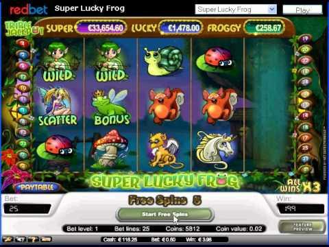 Super Lucky Frog Jackpot Slots
