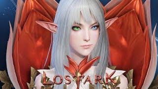 Создание мужского и женского персонажей в Lost Ark