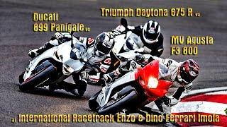 8. Ducati 899 vs MV F3 800 vs Triumph Daytona 675R