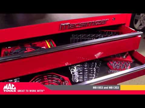 MB1353 - Macsimizer™ 10-Drawer Workstation