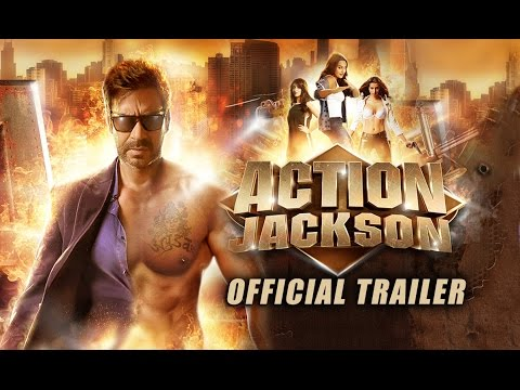 Action Jackson Official Trailer   Ajay Devgn, Sonakshi Sinha, Yami Gautam & Manasvi Mamgai