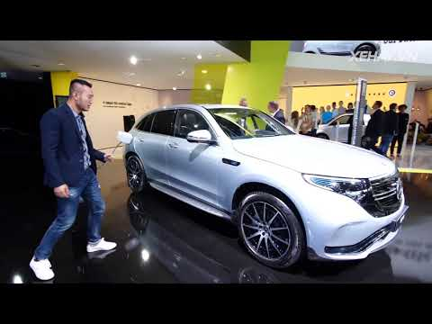 Ngắm nhìn và khám phá chiếc xe điện Mercedes-Benz EQC 400 - 410 mã lực/760Nm  @ vcloz.com