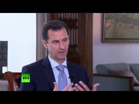 Интервью президента Сирии Башара Асада новостному агентству Sputnik