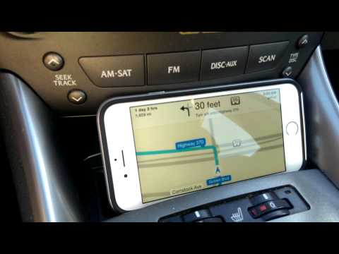 iPhone 6 Navigation maps test