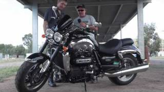 6. Triumph Rocket III Roadster Drag Strip Launch